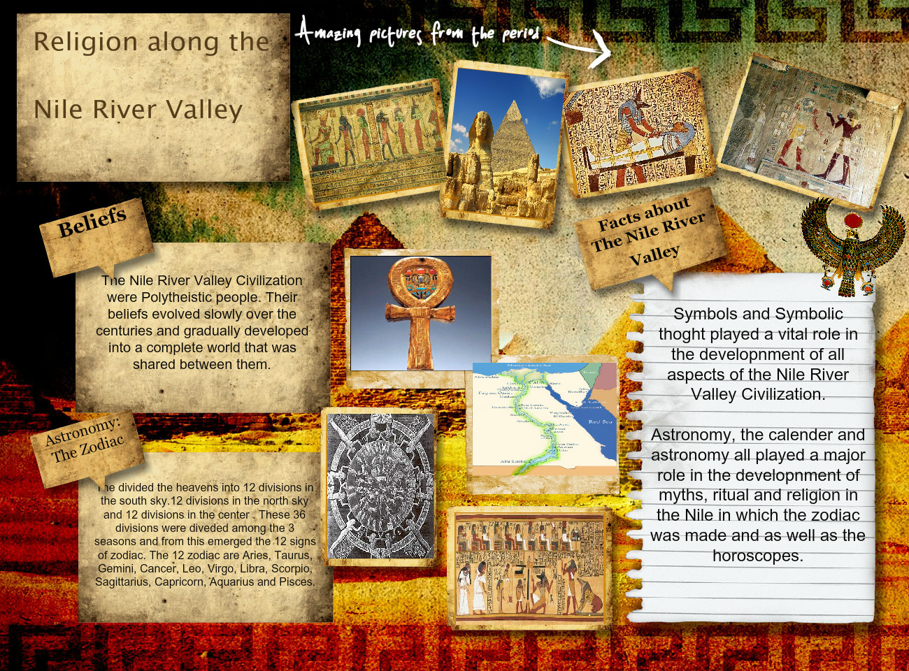 Religion Along The Nile River Valley Along Ancient Egypt En History Nile Religion