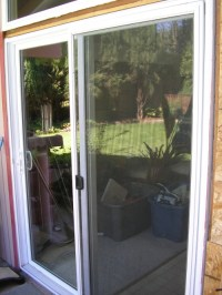 2 Dual Pane High Efficiency Sliding Glass Doors in Davis