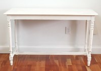 White, Shabby Chic Console/Sofa Table in Meredith, NH ...
