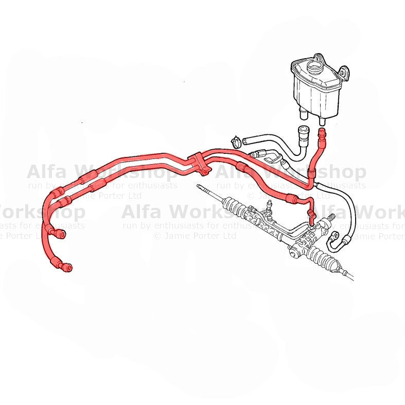 Alfa Romeo 147 Power Steering