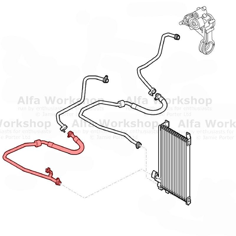 Alfa Romeo 159 Oil Cooler