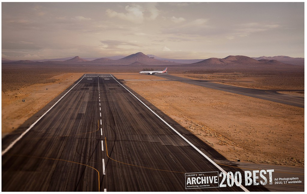 Erik Almas Luerzers Archive 200 Best Advertising photographers WorldWide American Airlines