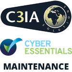C3IA CYBER ESSENTIALS MAINTENANCE Logo
