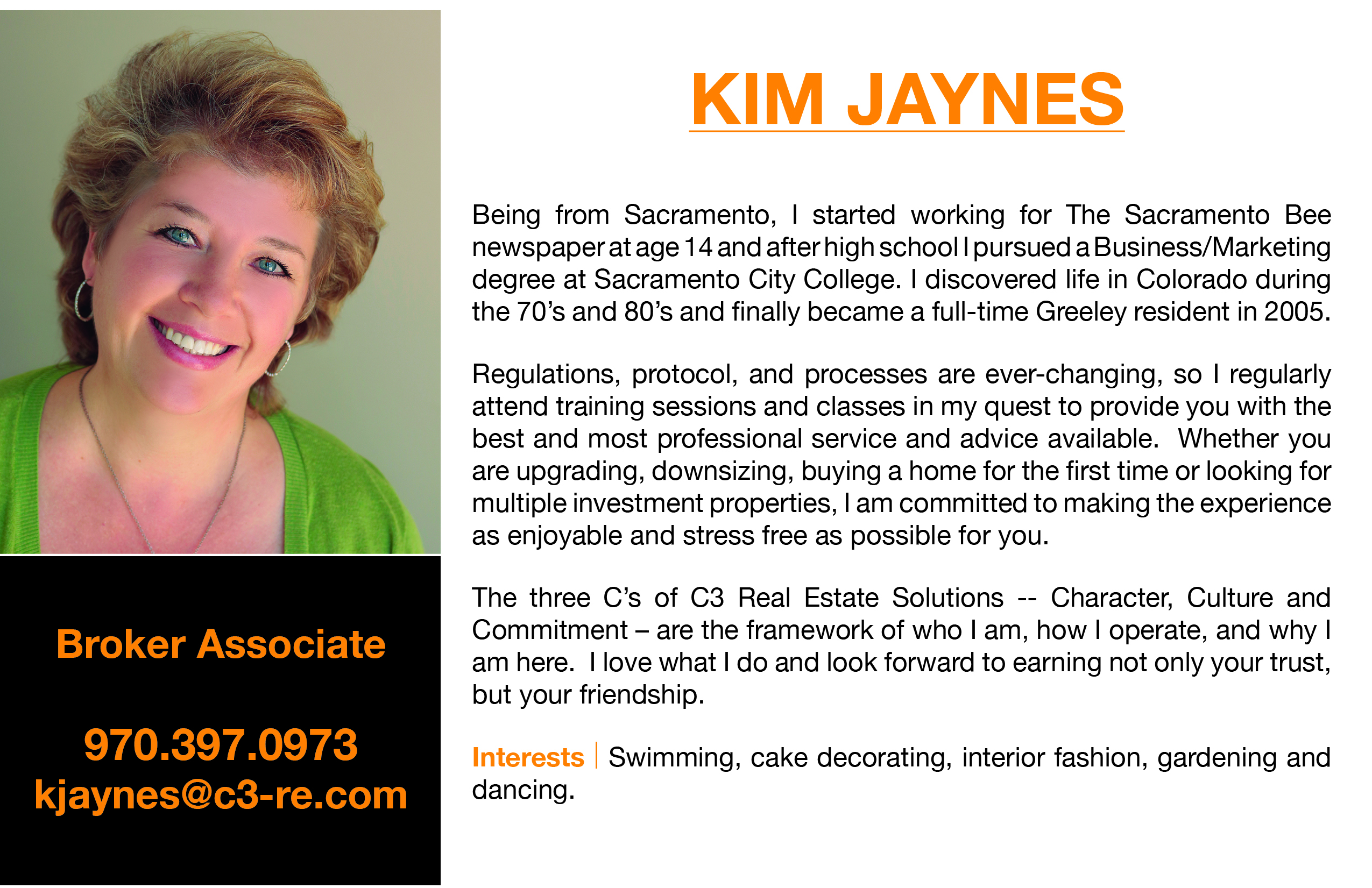 Kim Jaynes Realtor Northern Colorado Fort Collins