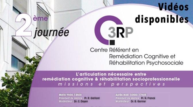 2ème Journée du C3RP, remédiation cognitive et réhabilitation socio-professionnelle