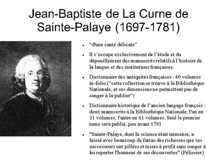 Jean-Baptiste de la Curne (1697-1781)