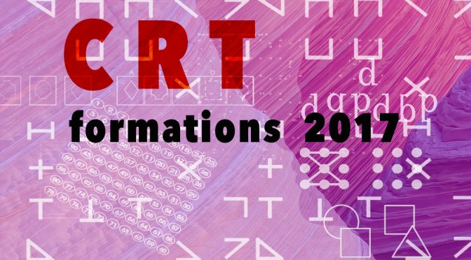 Formations CRT 2017 – Cognitive Remediation Therapy