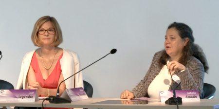 Luce Legendre et Isabelle Amado