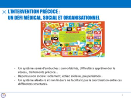 L'intervention précoce : un défi médical, social ET organisationnel