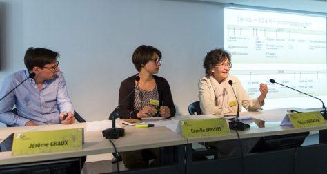 Jérome Graux, Camille Barillet et Sylvie Duverger (CHRU de Tours)