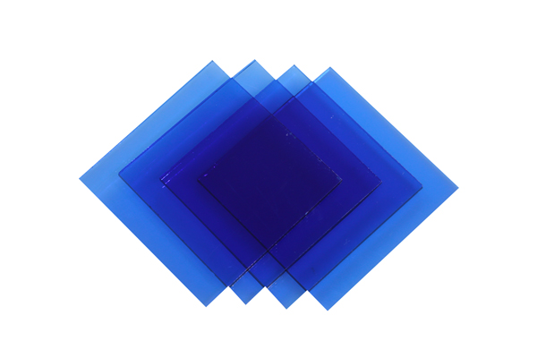 Verre Simple Bleu 5mm Image