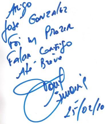 Autografo Tony