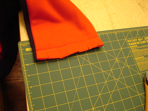 Craft: Fleece Scarf