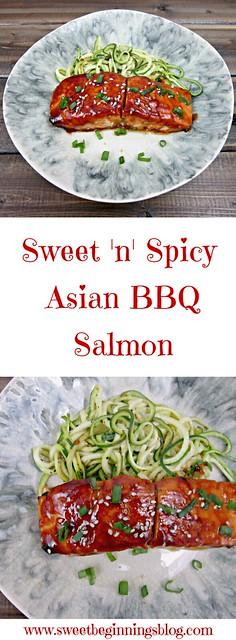 Sweet 'n' Spicy Asian BBQ Salmon