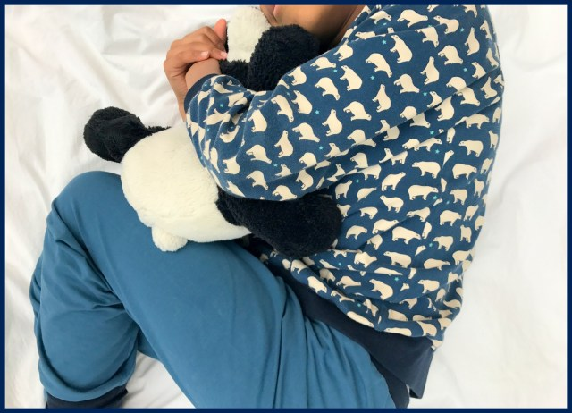 ijsbeer pijama (sleeping)