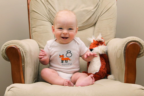 Jonathan is 8 Months Old!