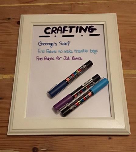 Framed lists - writing the list