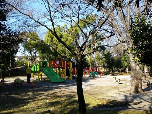 昨日のポータル1「熊谷中央公園遊具エリア」 #INGRESS