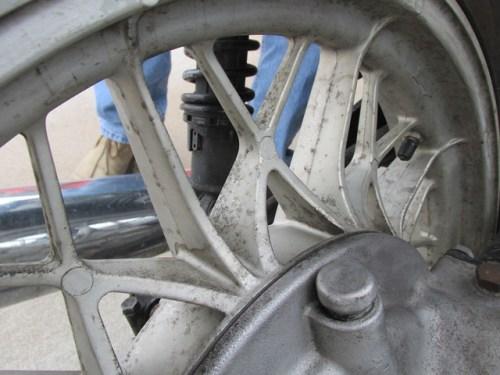 Corrosion on Snow Flake Wheels