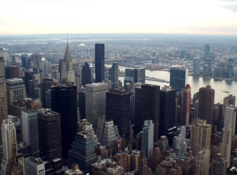 Empire State Building, New York, view from Floor 86 - the tea break project solo female travel blog