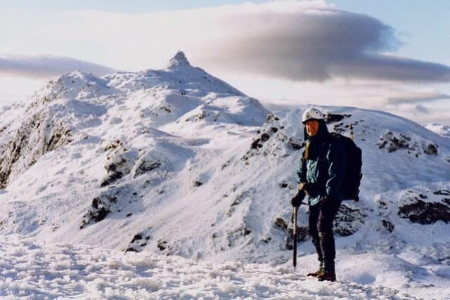 En route to Meall nan Tarmachan, 1998