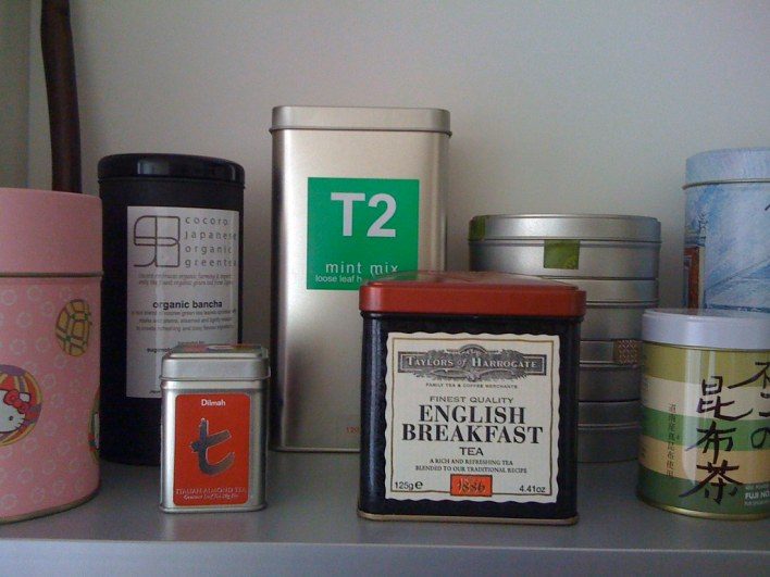 Part of my tea collection ...