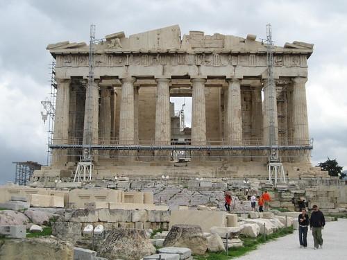Patrimonio de la Humanidad en Europa y América del Norte. Grecia. Acrópolis de Atenas.