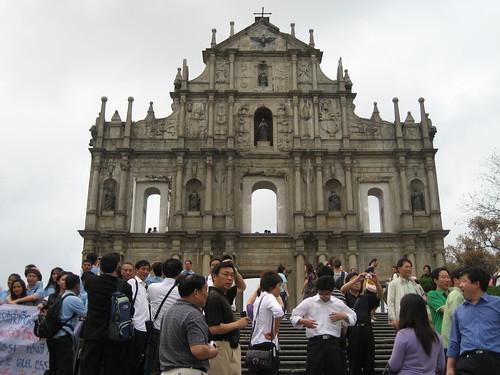 Patrimonio de la Humanidad en Asia y Oceanía. China. Centro histórico de Macao.