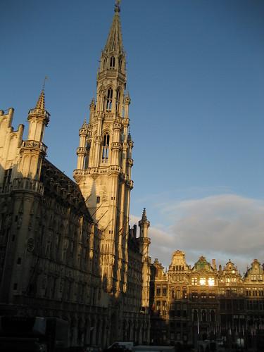 Patrimonio de la Humanidad en Europa y América del Norte. Bélgica. Grand Place Bruselas.