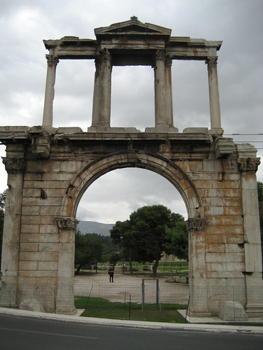 Arco de Adriano. ViajerosAlBlog.com.