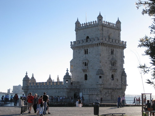 Patrimonio de la Humanidad en Europa y América del Norte. Portugal. Torre de Belém.