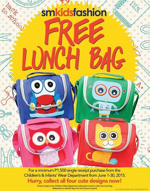 free lunch bag sm kids fashion