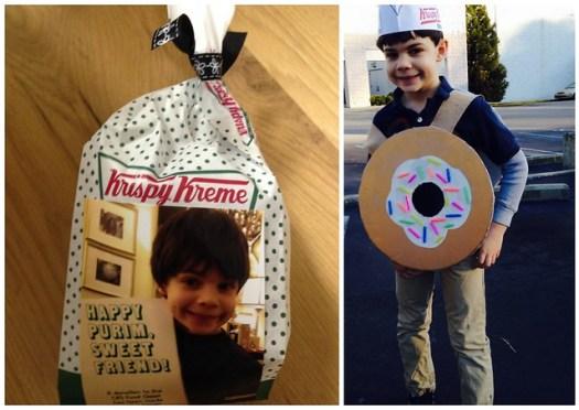 Shug's Krispy Kreme Doughnut Purim Costume