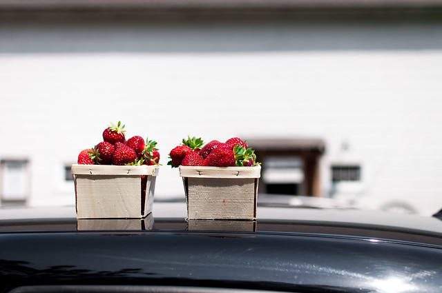 Recipes for fresh strawberries and other summer produce