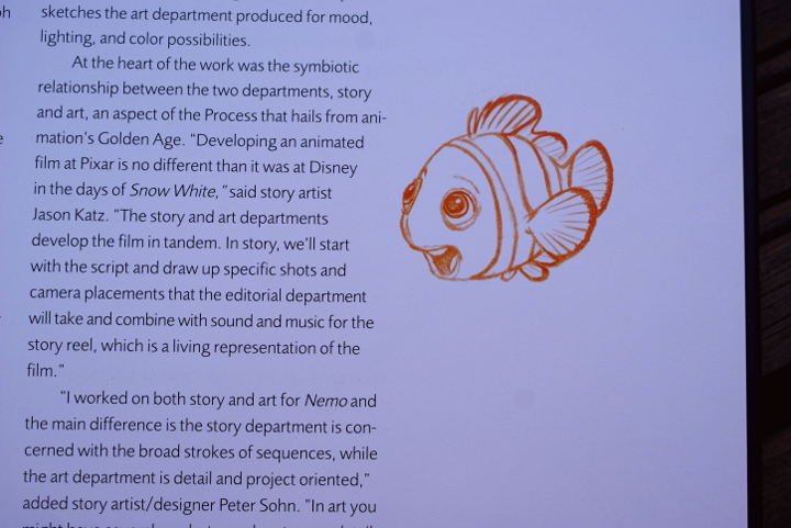 The art of Finding Nemo - Disnerd dreams