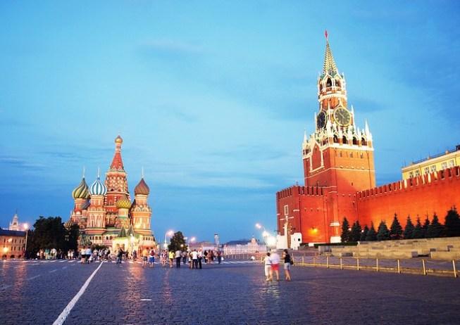 Главная площадь Российской Федерации.