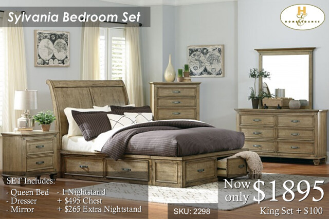 Sylvania Bed Set