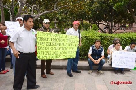 Manifestación CECYTE