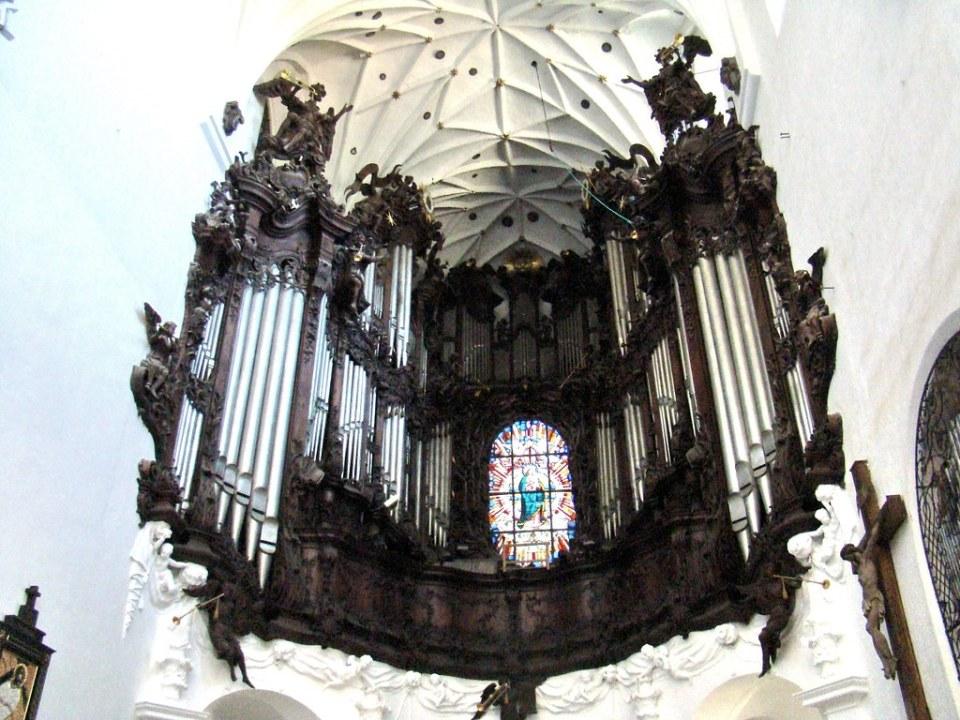 Gdansk organo Catedral de Oliwa Polonia 03