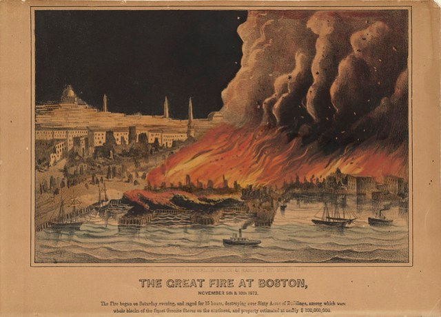 The Great Fire at Boston