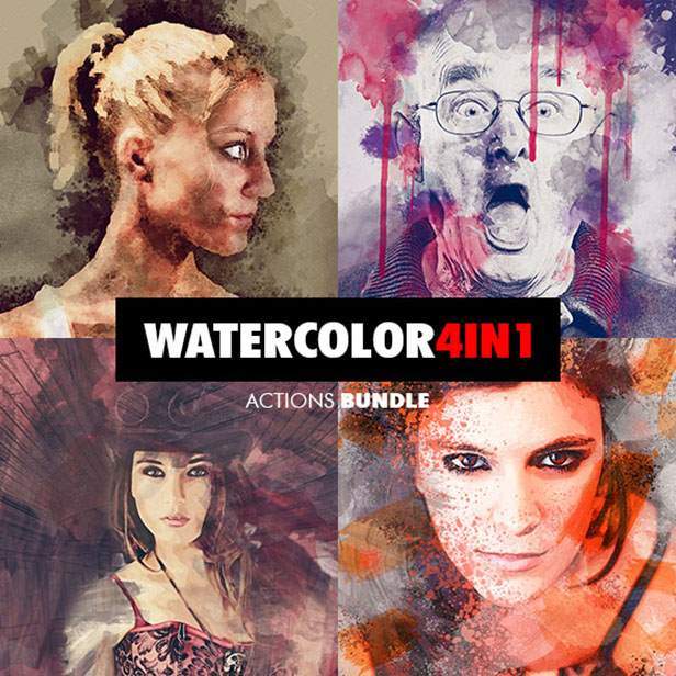 Wet Ink Photoshop Action - 129