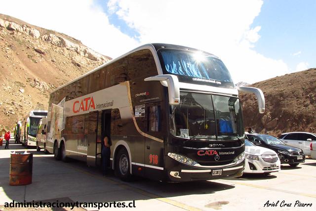 Cata Internacional | Paso Los Libertadores | Comil Campione DD - Volvo / POM689 - N° 918