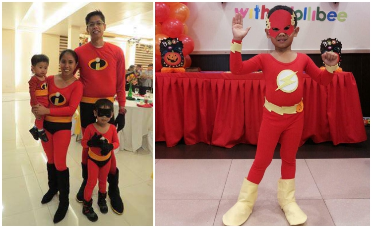DIY Halloween Costume Mommy Jen Incredibles Flash