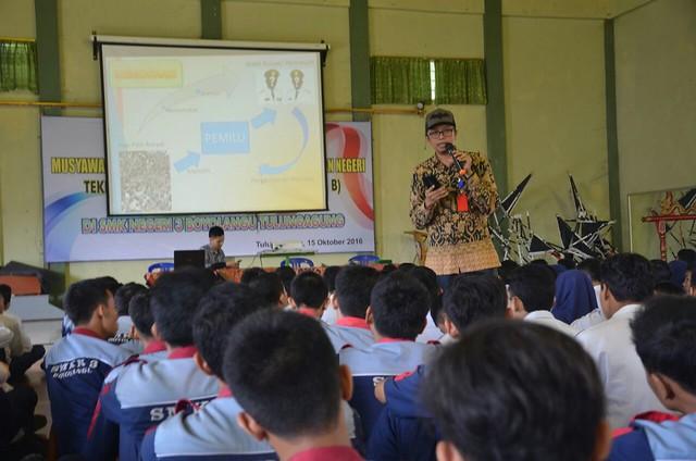 Suasana Sosialisasi di SMKN 3 Boyolangu(16/11)