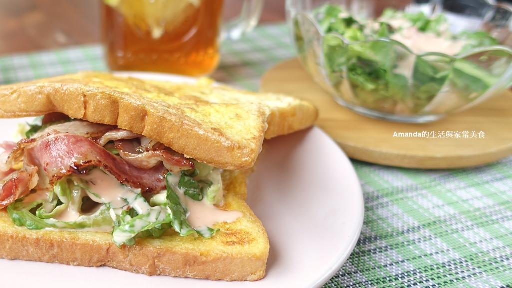 米可簡易料理-法式培根三明治 5