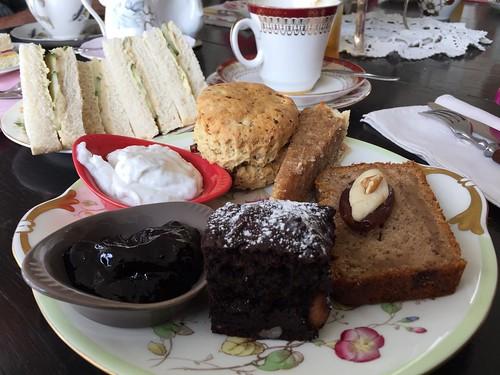 The Hidden Treasure Tea Room, Exeter