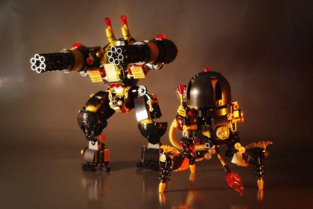 [MOC] Bla.K:Tron - Exterminator & Incinerator