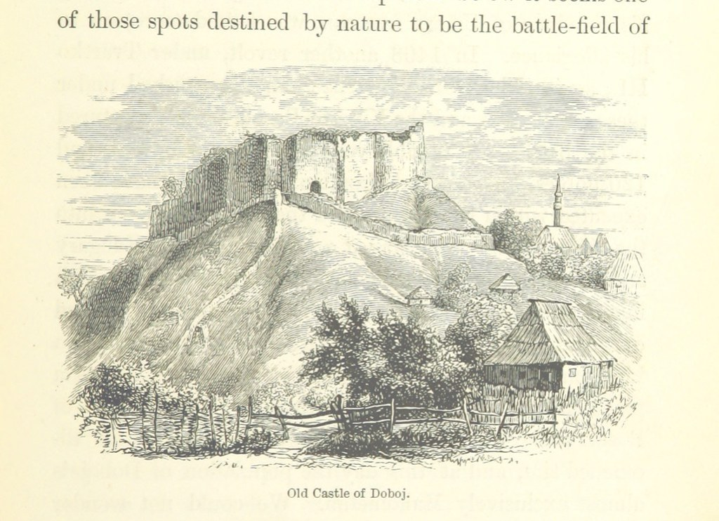 Image taken from page 181 of 'Through Bosnia and the Herzegóvina on foot, during the insurrection, August and September 1875, with an historical review of Bosnia ... With ... illustrations, etc'