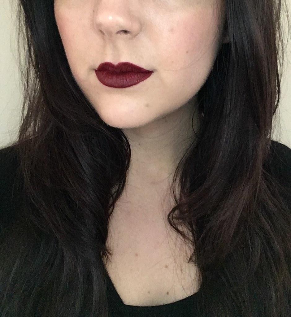 MUA Luxe Velvet Lip Lacquer in Firecracker