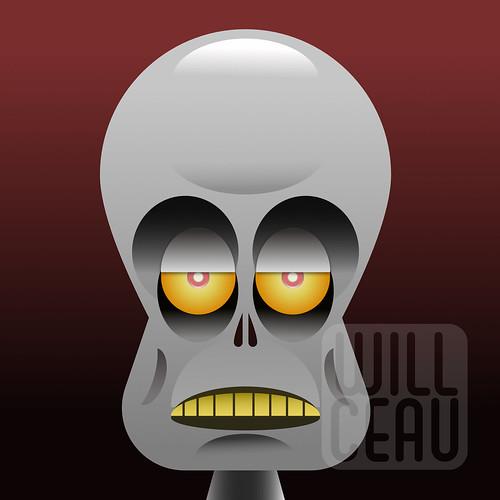 Zombie in Affinity Designer